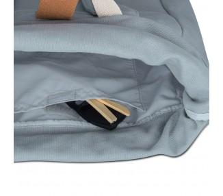 Batoh roll top Adam - šedý