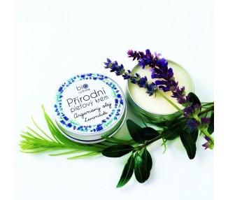 Relaxační přírodní krém pro smíšenou pleť - Arganový olej, levandule