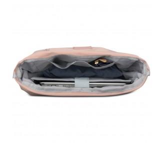 Batoh menší roll top Robin - růžový