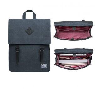 Batoh Briefcase - tmavě šedý
