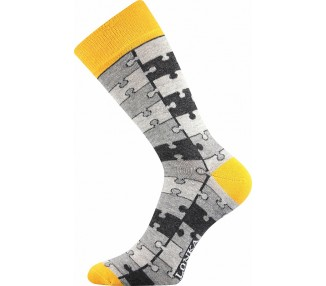 Ponožky Woodoo mix D- tvary