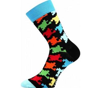 Ponožky Woodoo mix B - kostky
