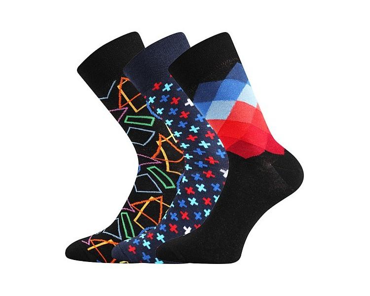 Ponožky Dimage mix E - zářivé