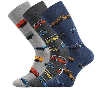 Ponožky Depate mix F - auta