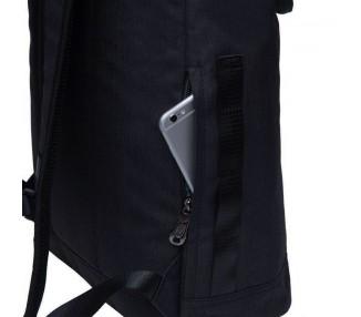 Rolovací batoh Double - černý