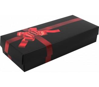 Dárková krabička na ponožky - červená
