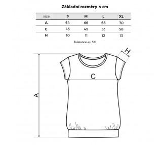 Tričko dámské Cela - Pírka