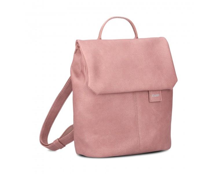 Batoh Mademoiselle MR8 - tmavě růžový/canvas