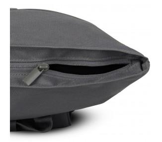 Batoh roll top Aaron RPET - tmavě šedý