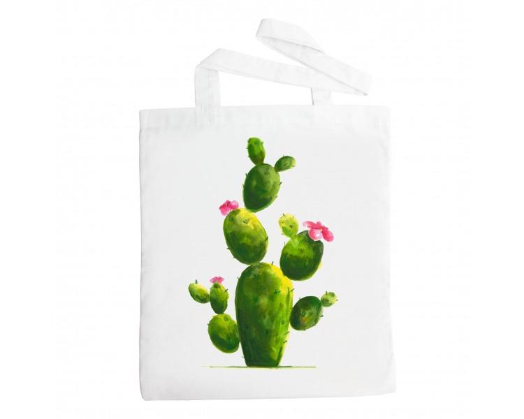 Látková taška - Kaktus