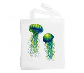 Látková taška - Medůzy