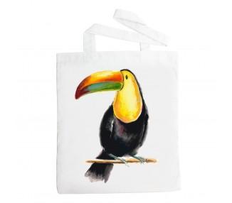 Látková taška - Tukan