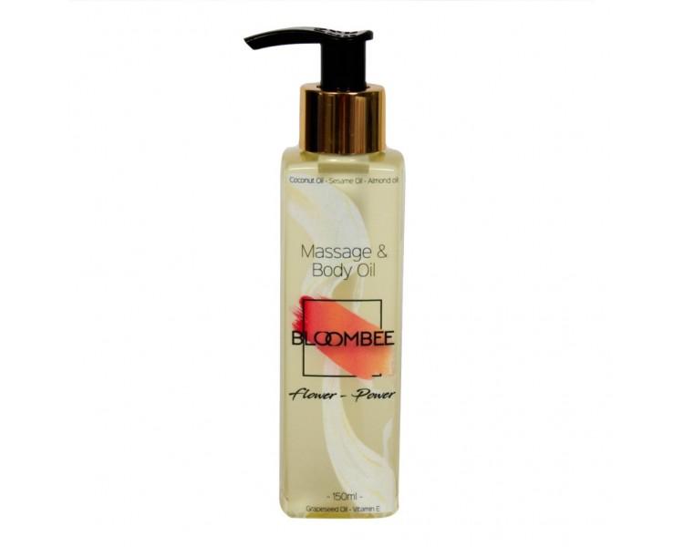 Tělový a masážní olej - Flower Power