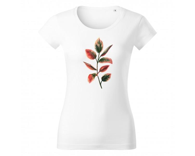Tričko dámské Vipe  - Lístky