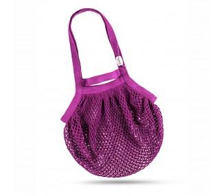Síťová taška přes rameno - fialová