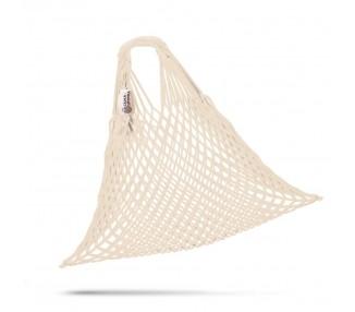 Síťová taška bavlněná - přírodní
