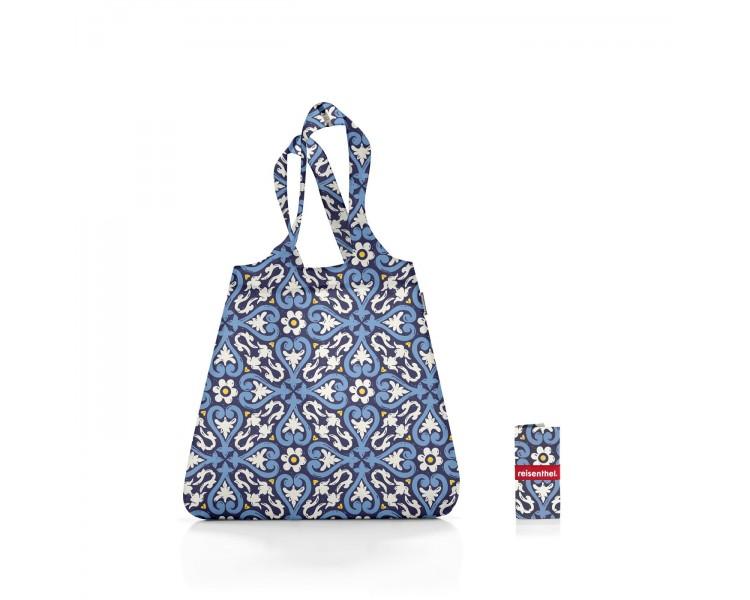 Skládací taška Mini Maxi - modrý vzor