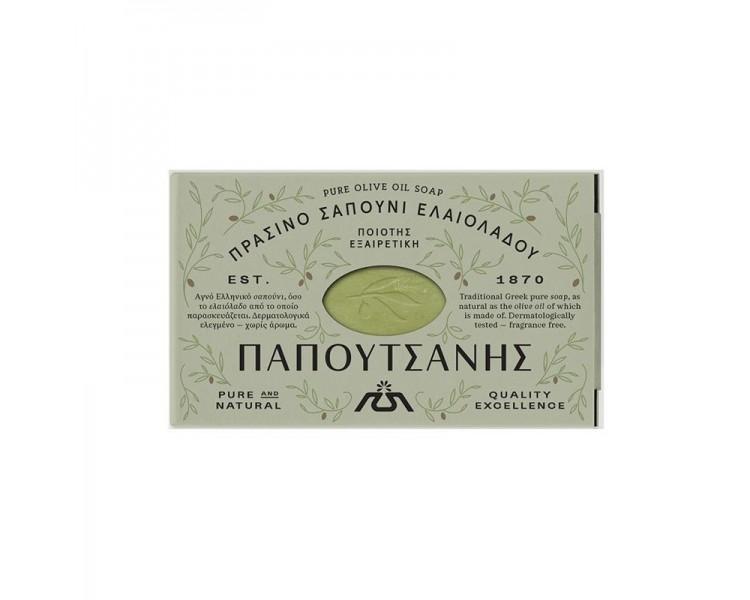 Tradiční přírodní olivové mýdlo - zelené