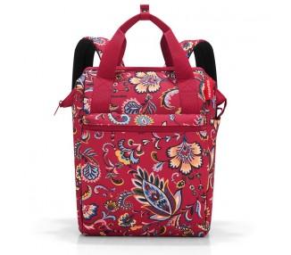 Batoh Allrounder - červené květiny