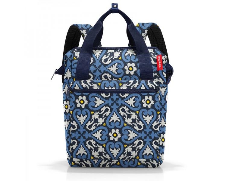 Batoh Allrounder  - modrý vzor