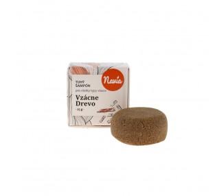 Tuhý šampon Vzácné dřevo s kondicionérem
