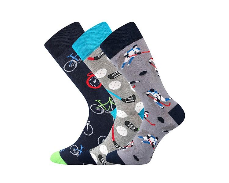 Ponožky Woodoo mix Z - Hokej, tenis
