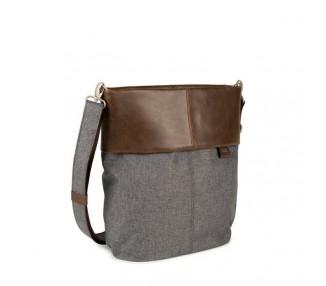 Batoh/kabelka OLLI OR12 - šedá