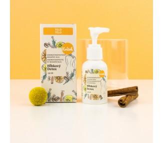 Anticelulitidní masážní olej Hloubkový detox