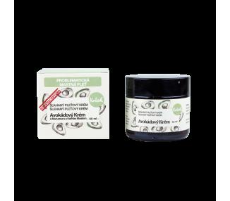 Avokádový krém s Murumuru a Kombo máslem pro mastnou pleť - noční