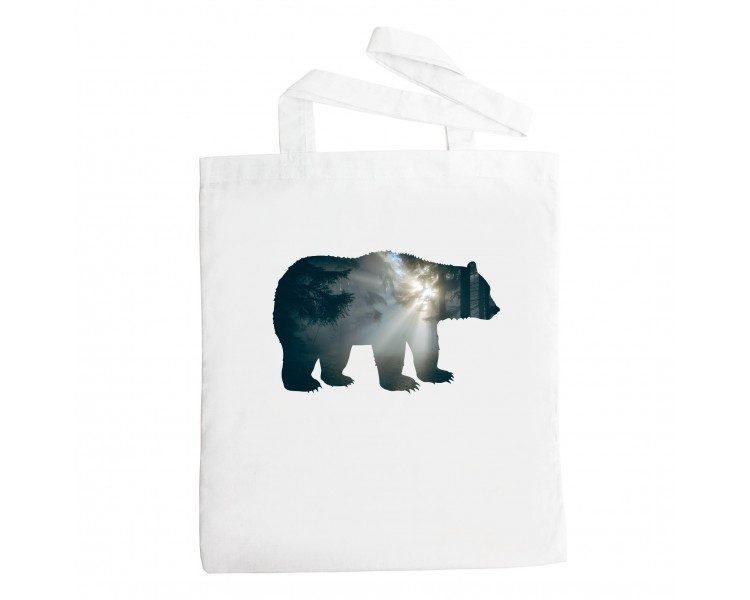 Látková taška - medvěd