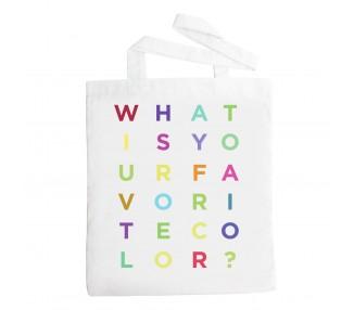 Látková taška - favorite color